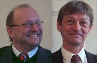 Rainer Burkart und Bernhard Thiessen