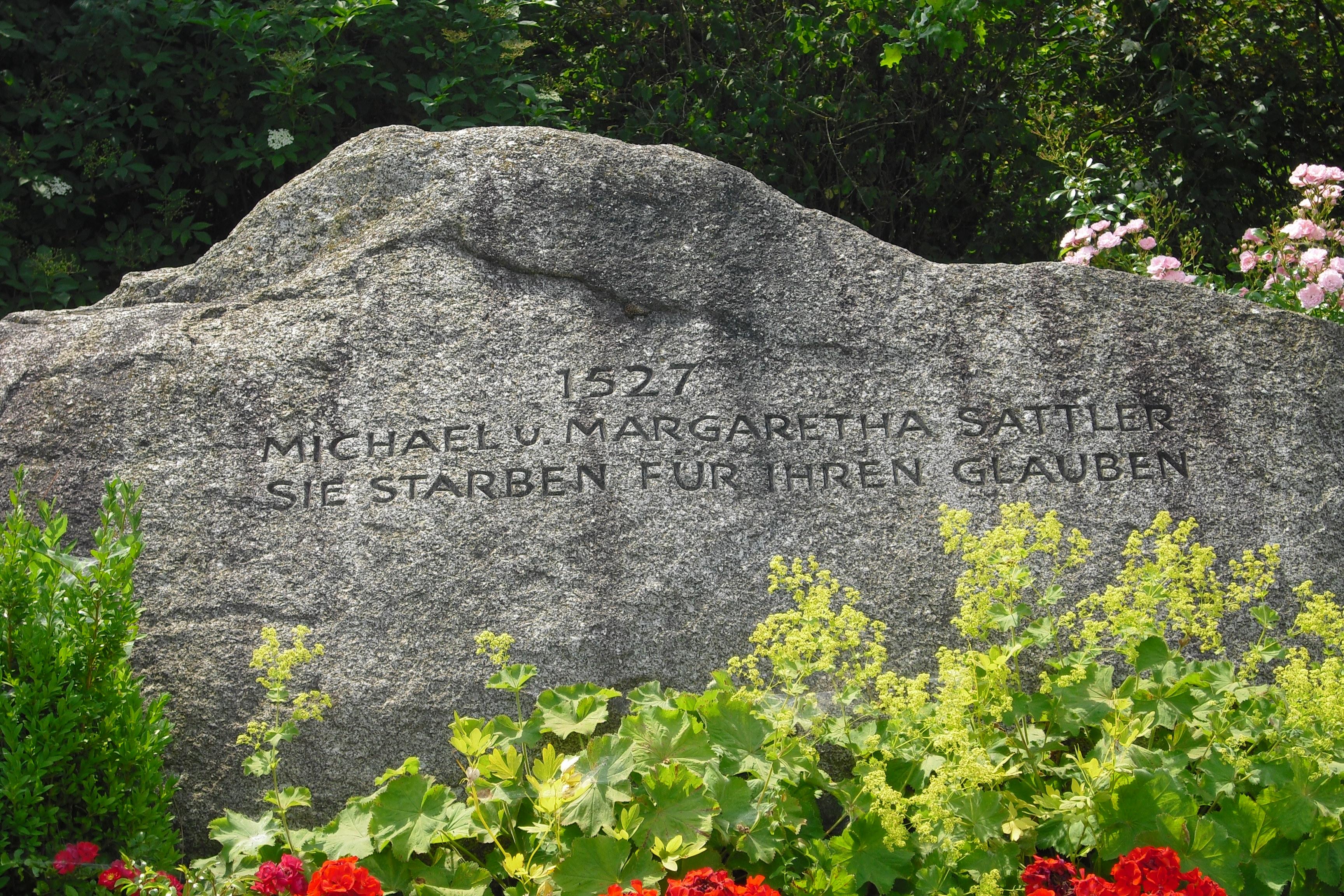 MichaelSattlerGedenkstein (Gregor Helms)