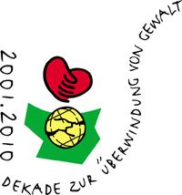 Logo der Dekade zur Überwindung von Gewalt