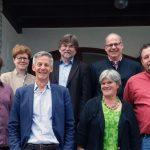 Der neugewählte AMG-Vorstand (es fehlt Hannah Rosenfeld) / Foto: Jakob Fehr